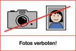 Fotos verboten